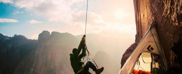 Альпинизм и палатка