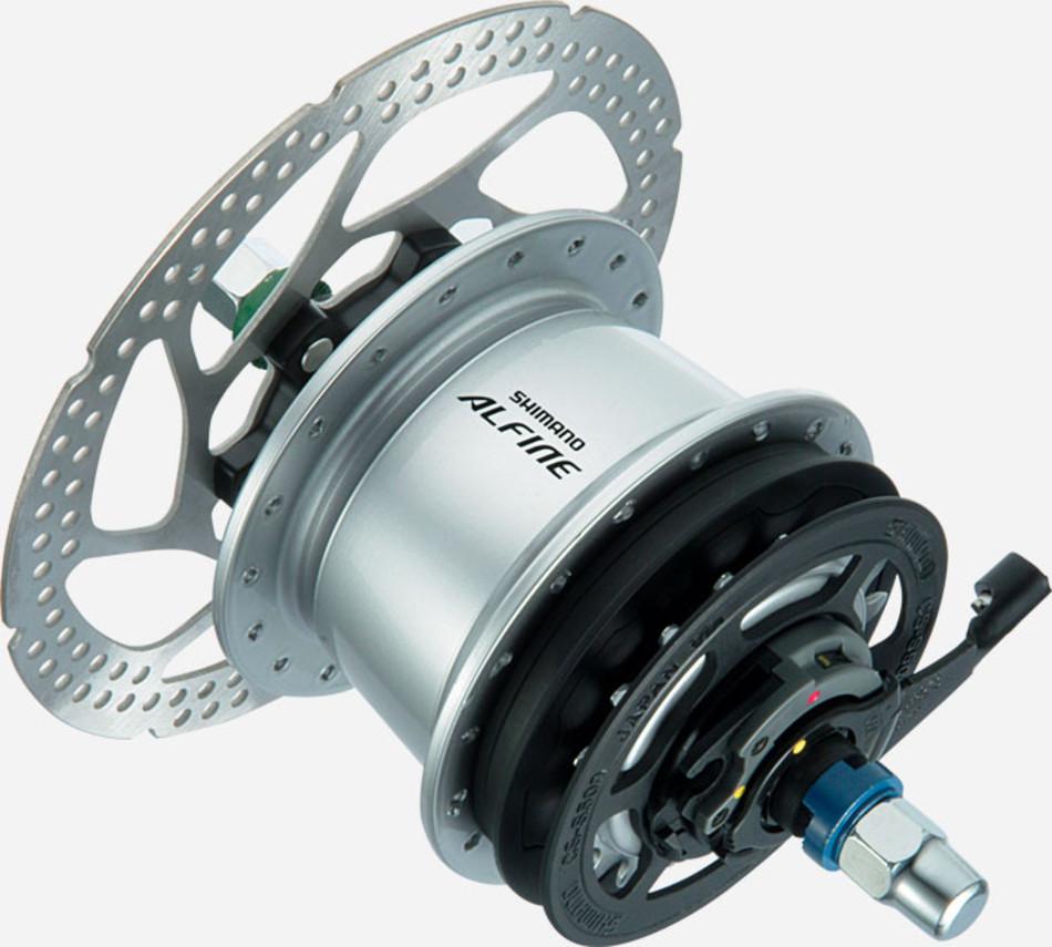 Планетарная втулка велосипеда с дисковым тормозом