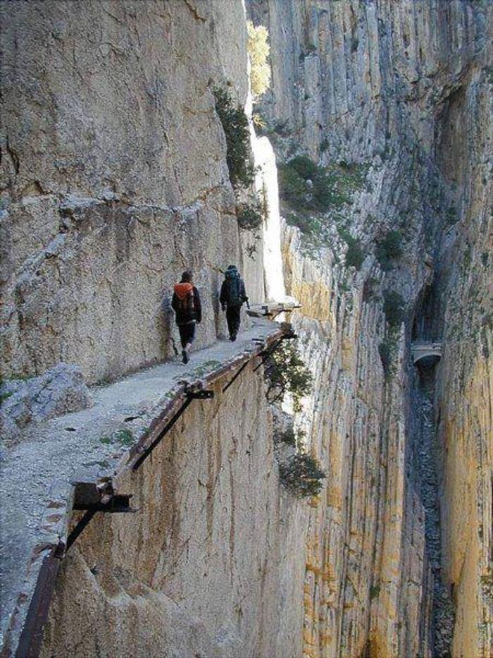 Опасные туристические тропы, Эль Каминито Дель Рей