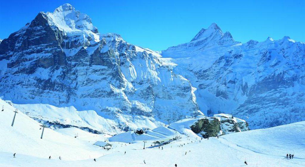 Гринденвальд, горнолыжный курорт