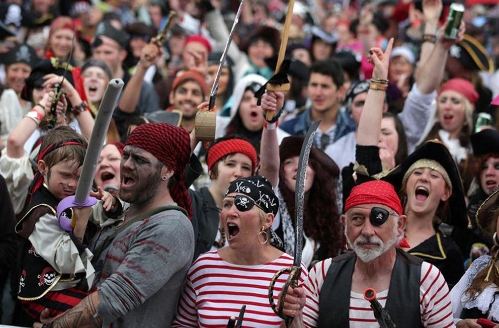 Праздник пиратов, Каймановы острова