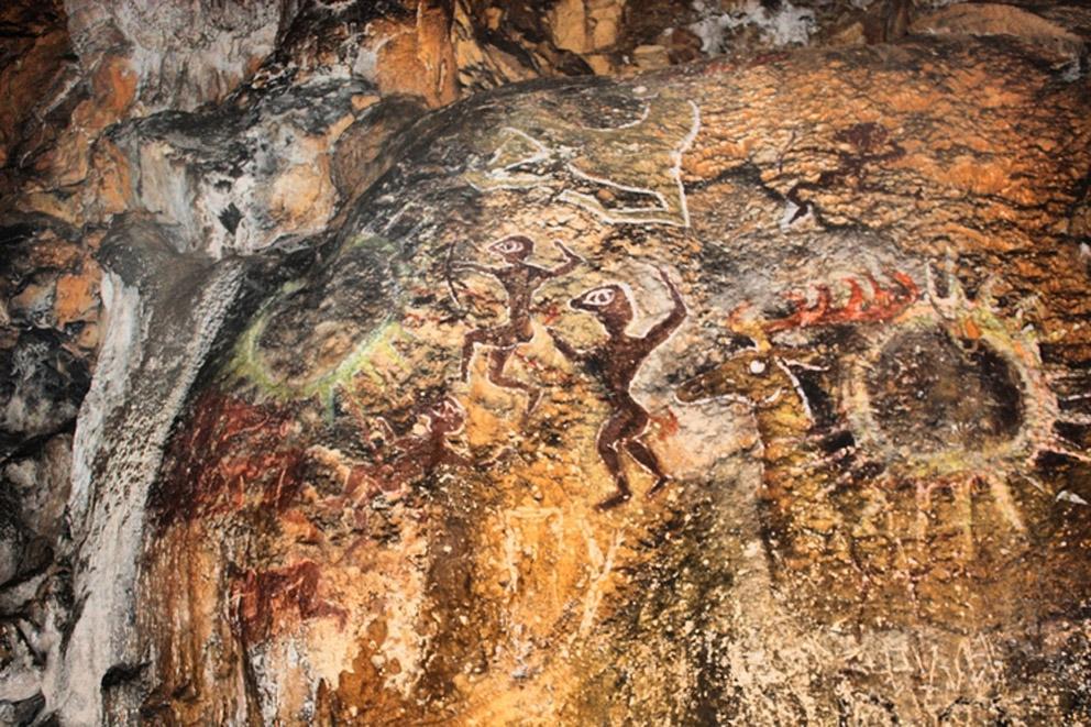 Рисунок в Холодной пещере