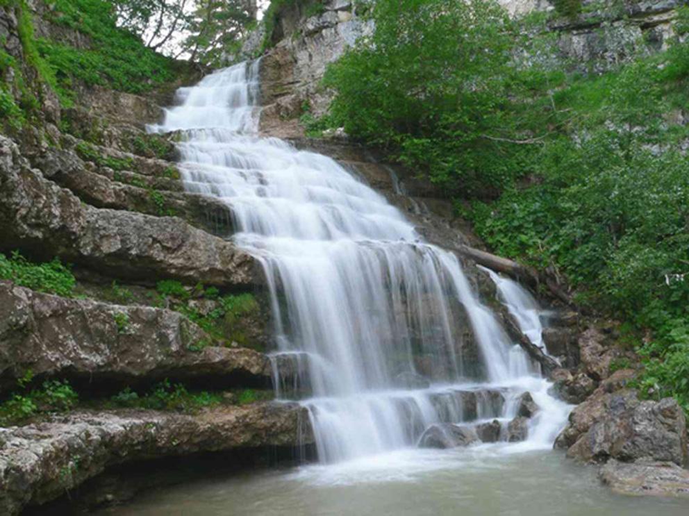 Курджипский водопад, Адыгея