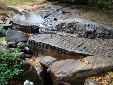 Камбоджа, подводный храм