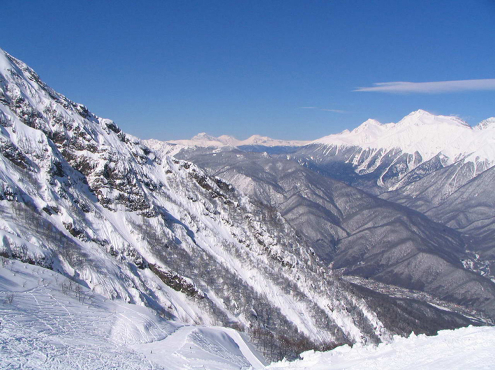 Адыгея, зимние пейзажи