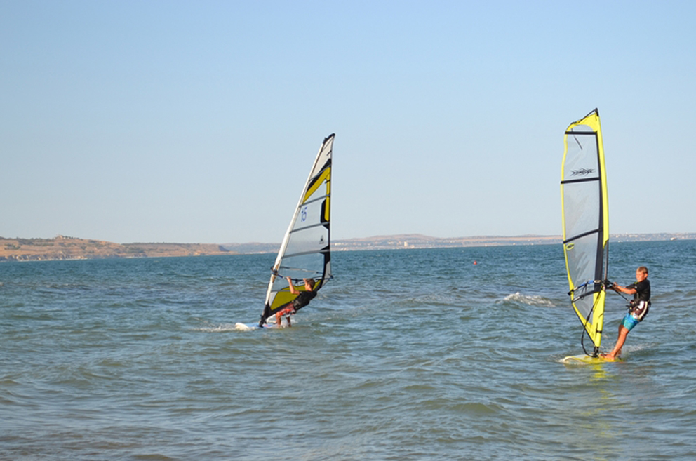 Серфинг в Керчи