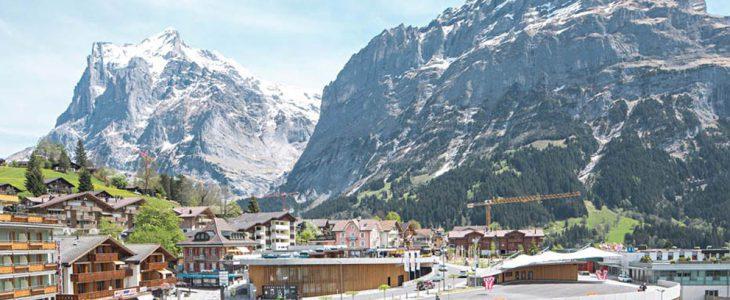 Гринденвальд горнолыжный курорт в Швейцарии