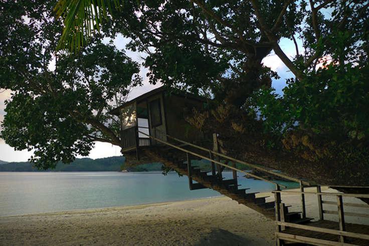 Необитаемый остров, компания Docastaway