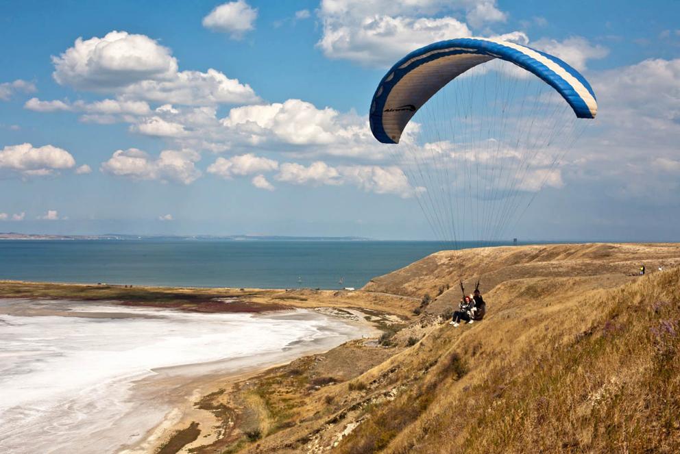 Тобечикское озеро Керчь