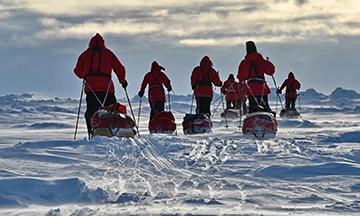 Экспедиция полярников, Северный полюс
