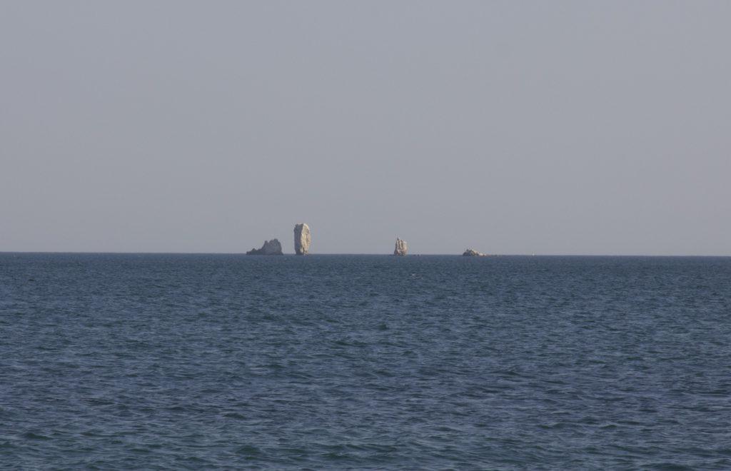 Скалы-Корабли, Опук