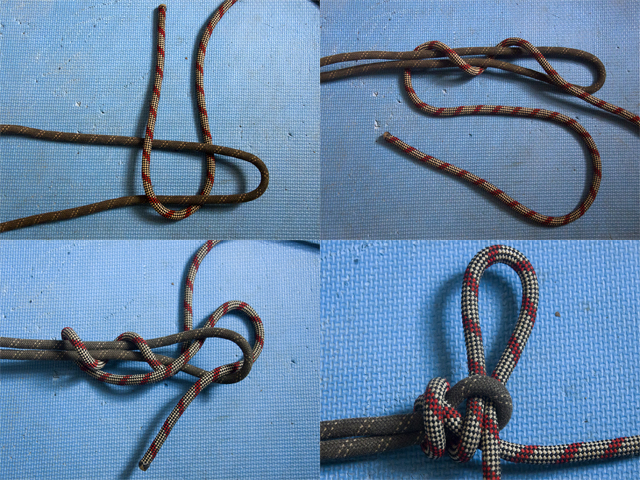 Саморазвязывающийся узел