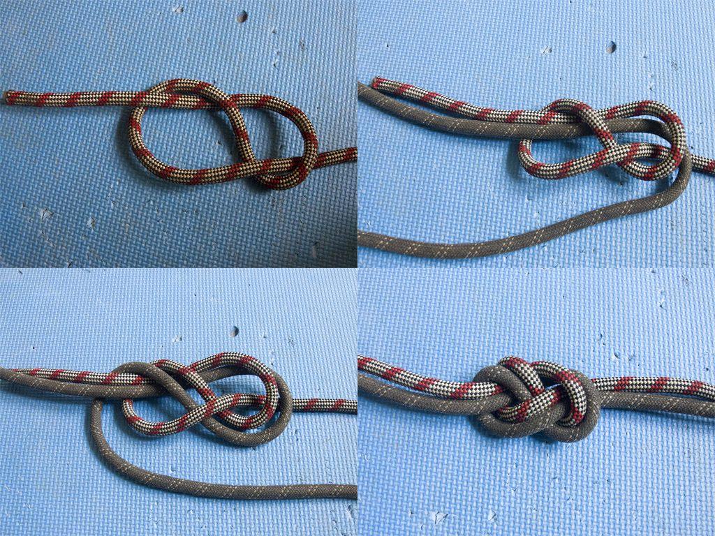 Встречная восьмерка (фламандский узел)