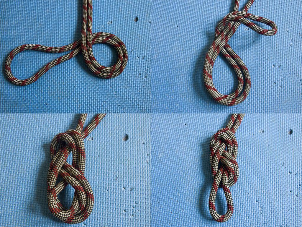 Восьмёрка (фламандская петля). Альпинистские узлы