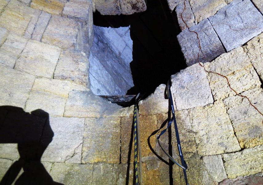 Древний резервуар для аварийного запаса воды